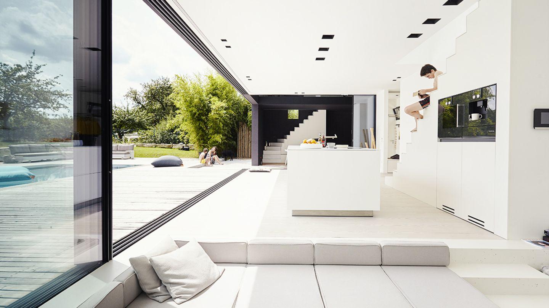 Von Architekten gestaltete Wohnzimmer   [SCHÖNER WOHNEN]