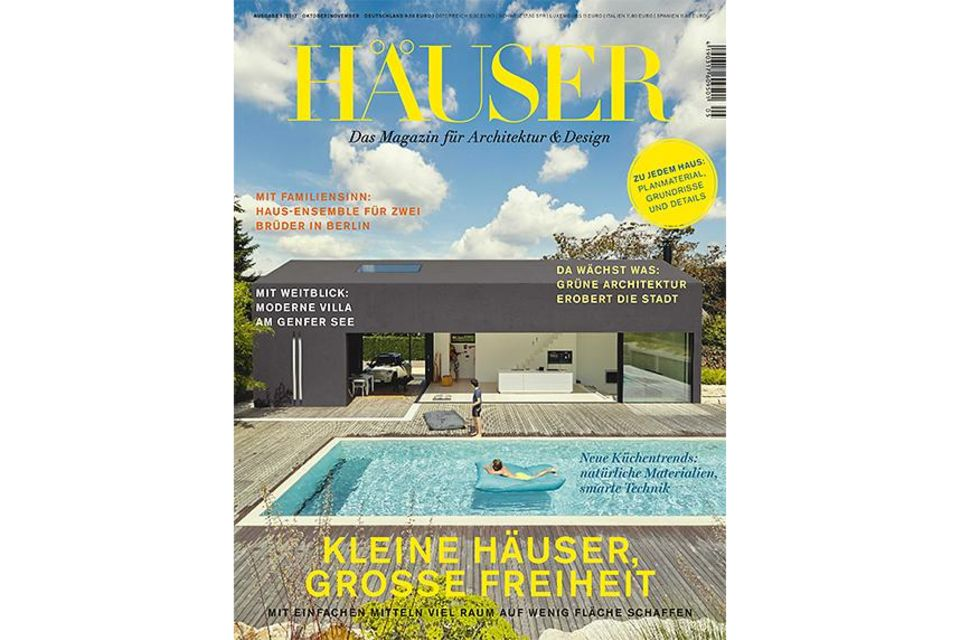 HÄUSER: Cover 05/2017