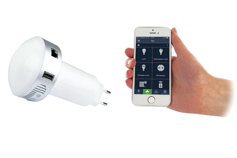 Gut gelöst: Smart-Home-Gateway von Schwaiger