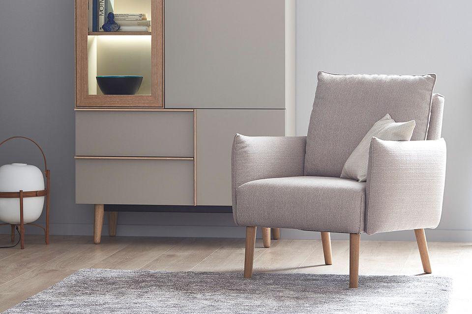 """Sessel """"Merit"""" aus der SCHÖNER WOHNEN-Möbelkollektion"""
