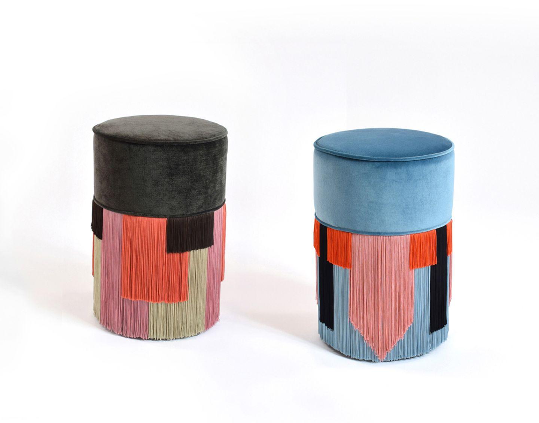 "Sitzpouf ""Couture Geometric for LVR"", Lorenza Bozzoli"