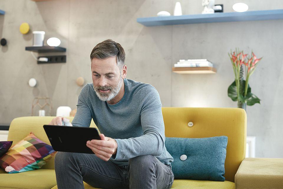 Komplettes Lichtszenario auf Fingertipp: Smart-Home mit Qivicon
