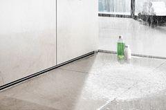 Duschablauf als Fliesenfuge - Viega
