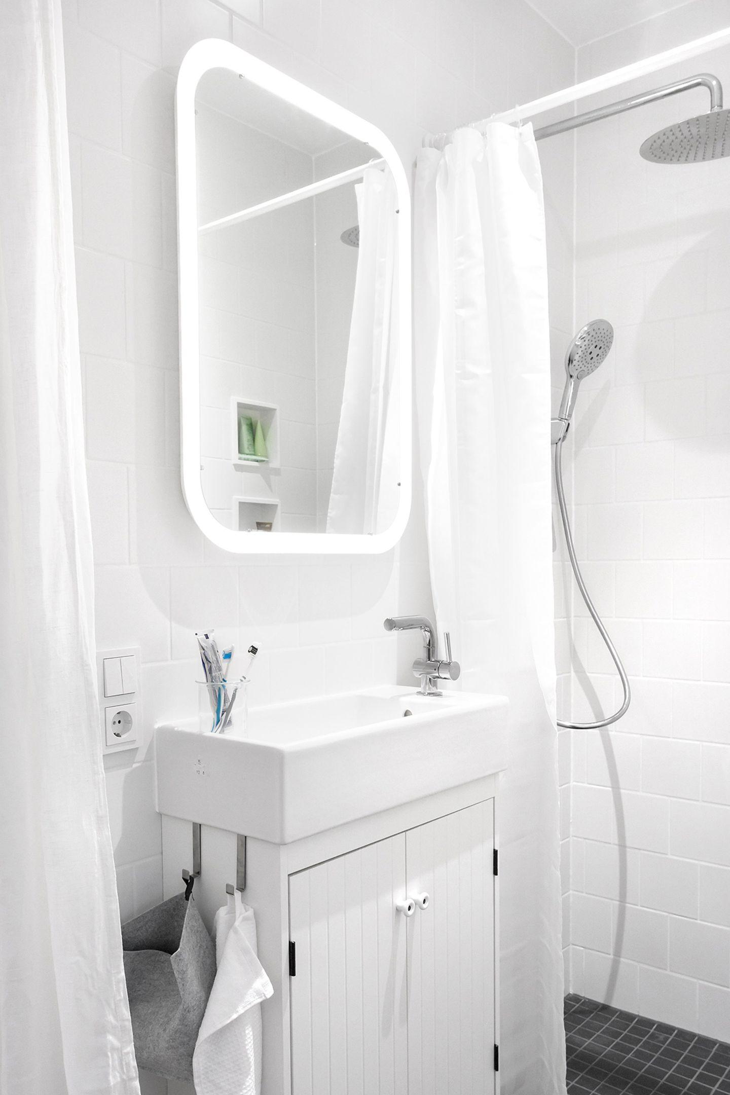 Das offene Dusch-Bad des SchwörerHaus
