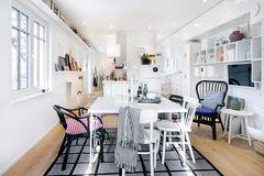 Der Wohnraum des Green Living Space von SchwörerHaus