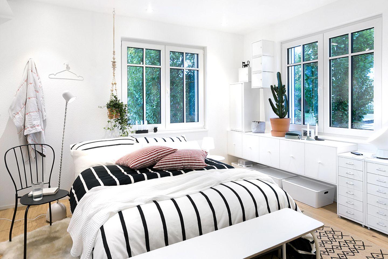 Das Schlafzimmer des Green Living Space von SchwörerHaus