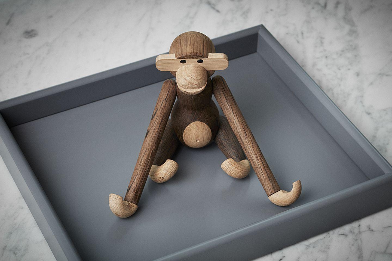 Affen-Figur aus Holz von Kay Bojesen