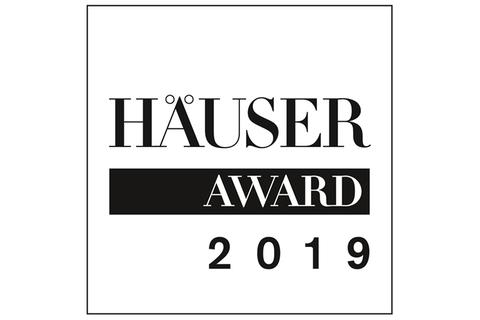 HÄUSER-AWAR 2019 - Banner