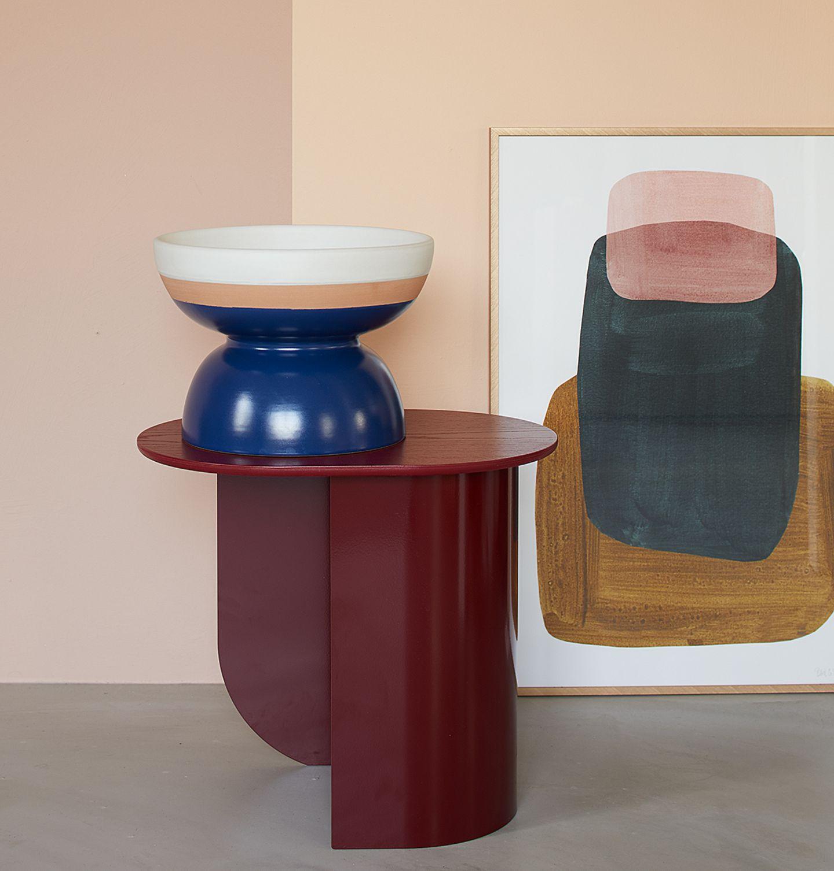 Farben kombinieren - Rosa, Rot und Blau