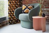 Farben kombinieren - Braun, Rosa und Graublau