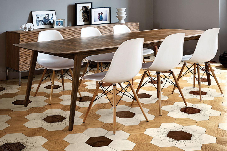 Bodentrends 2018: Holzparkett in geometrischen Mustern