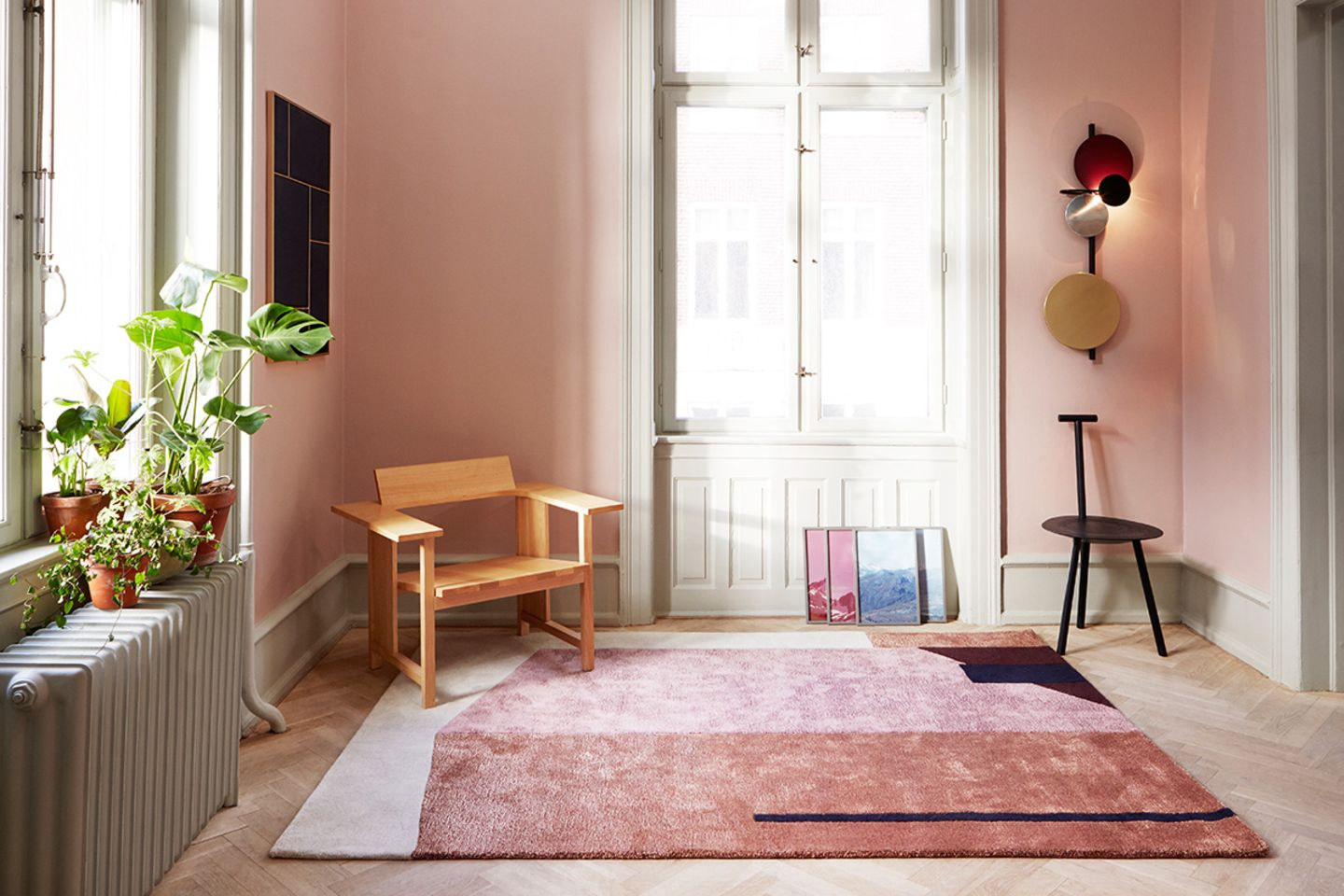 """Teppich """"Arqui Rug 1"""", Please wait to be seated"""