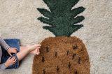 Ananasteppich im Kinderzimmer