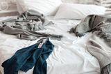 Chaos im Schlafzimmer