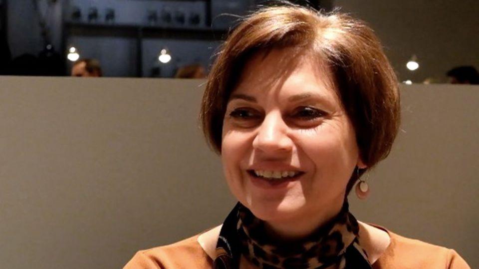 Design- und Produktmanagerin Bettina Herrmann von Rolf Benz