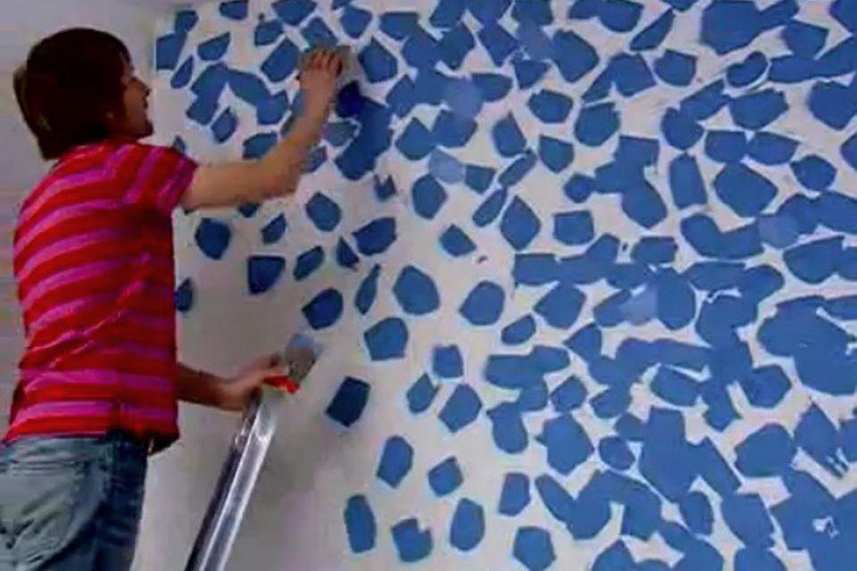 Wandspachteltechnik