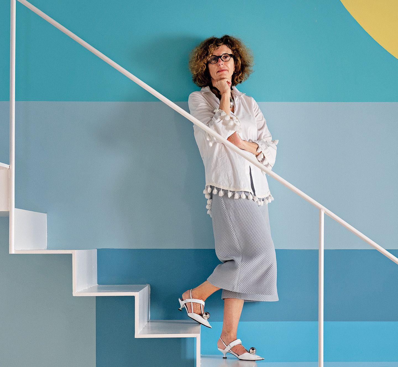 Architektin Teresa Sapey in ihrem Palazzo