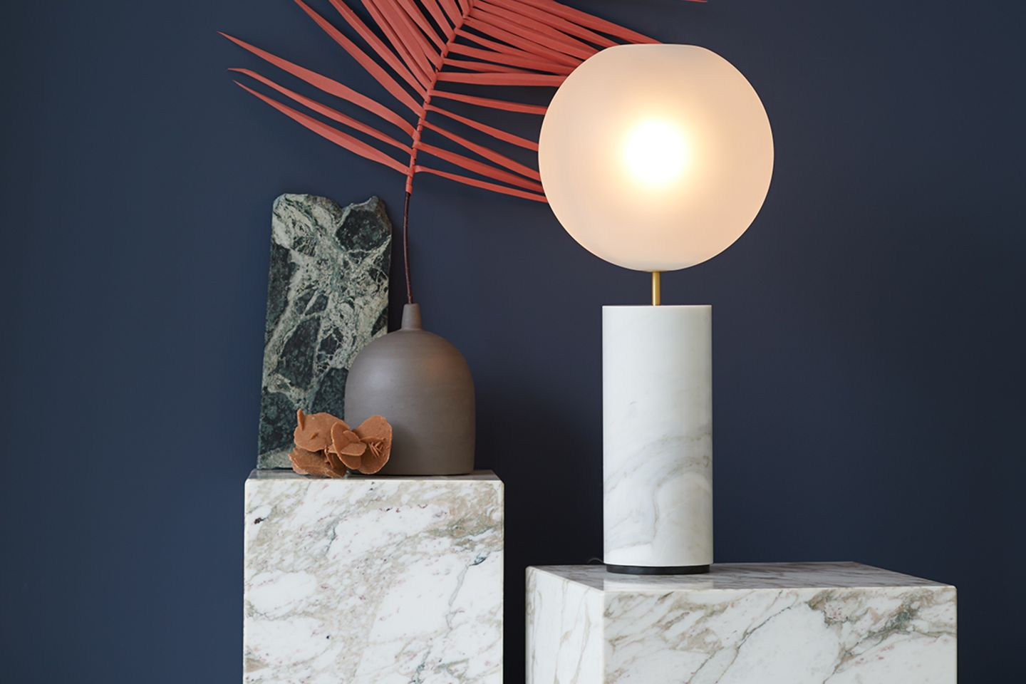 """Dossier Steinzart: Tischleuchte """"Soffio Frostes Table Lamp"""", Giopato & Coombes"""