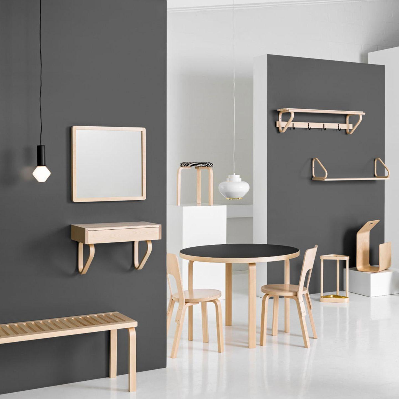 Verschiedene Möbel aus Birke von Artek