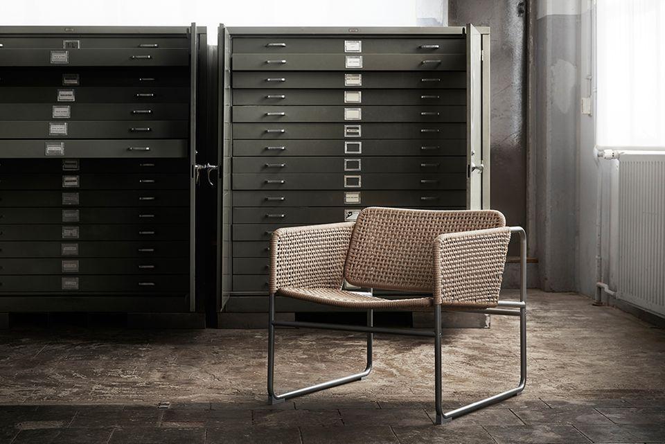 "Ikeas Lounge Chair aus der ""Industriell""-Serie 2018"