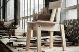 """Stuhl aus der """"Industriell""""-Serie 2018 von Ikea"""