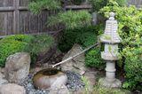 Brunnen zum Reinigen vor der Tee-Zeremonie