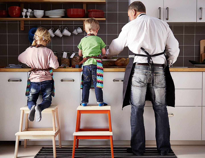 Kochen mit Kindern - gemeinsam Mahlzeiten zubereiten