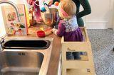 """Lernturm """"Monti"""" für Kinder in der Küche"""