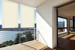 Balkonsichtschutz: Balkonrollo von Casa Vivendi