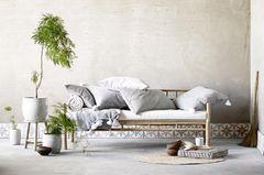 """Bamboo Lounge Couch"" von Tine K Home"