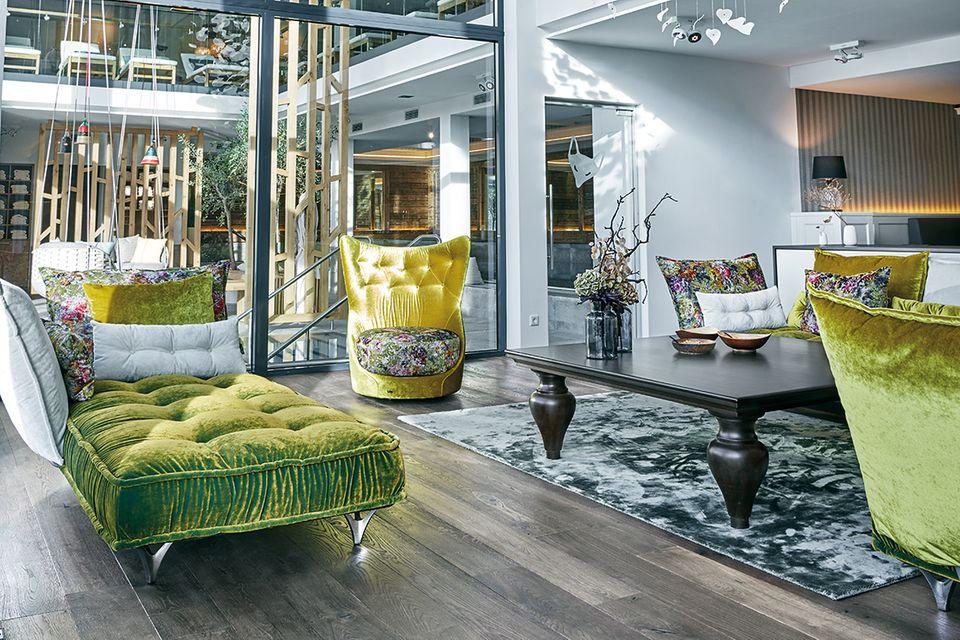 Der Living-Room-Spa-Bereich des Landhotel Voshövel