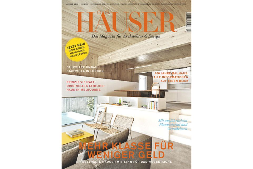 HÄUSER: Cover 03-2018