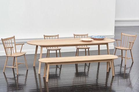 """Tisch und Bank """"Triangle"""" von Hay"""