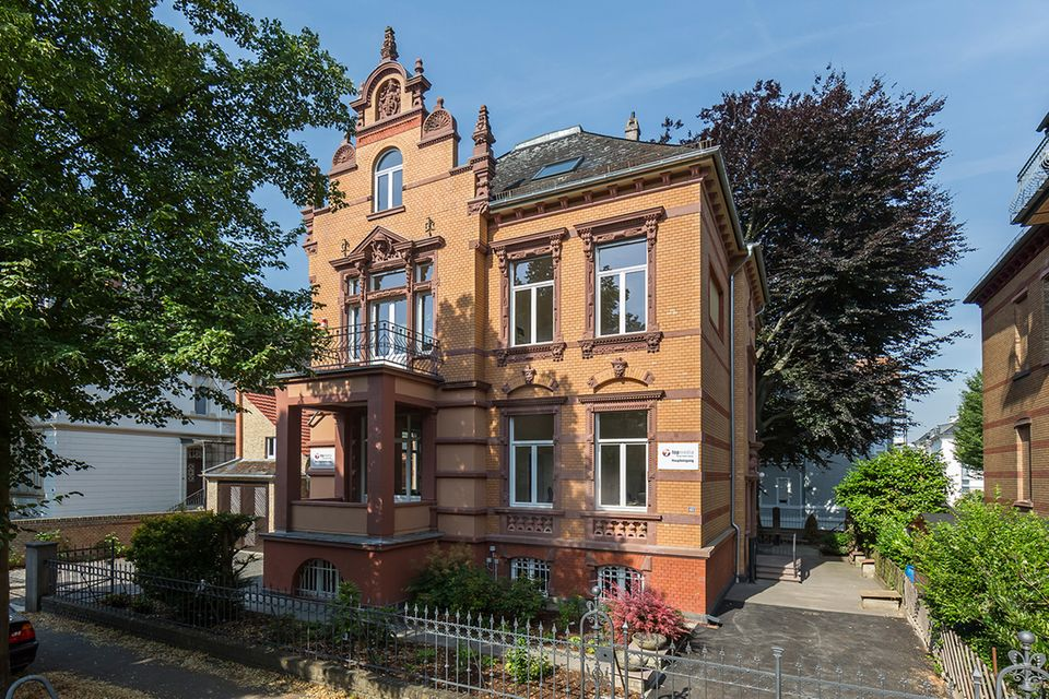 Außenansicht der Villa Viktoria