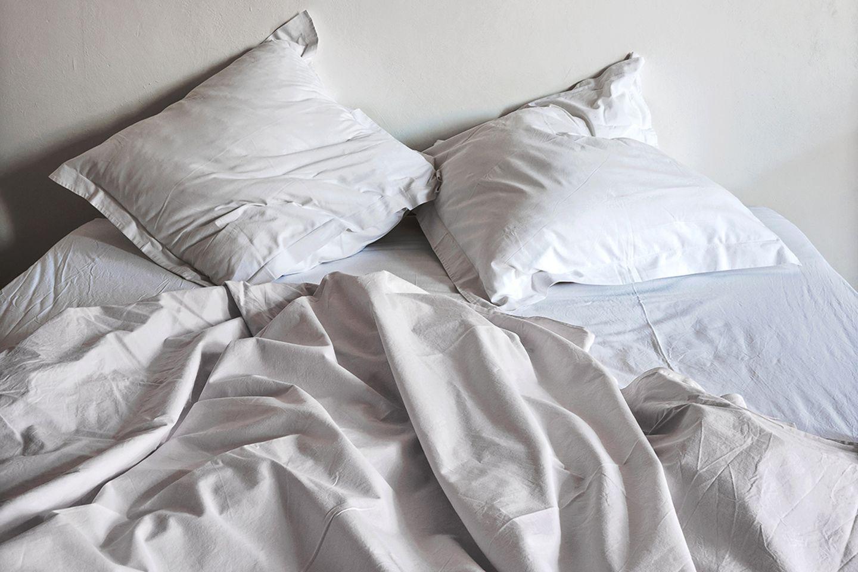 Dreckige Orte zu Hause: Bettwäsche