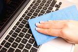 Dreckige Orte: Computer-Tastatur