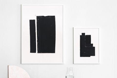 "Poster ""The art of fabric"" von Atelier Cph"