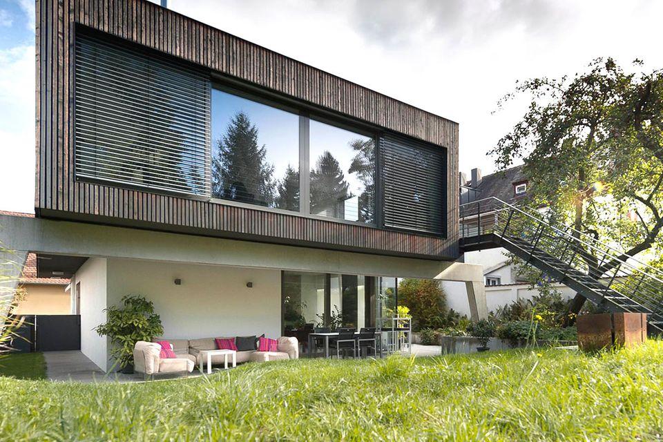 Villa in Nürnberg - Grimm Architekten: Totale
