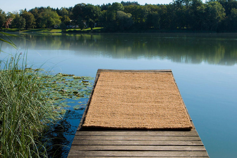 Outdoor-Teppich aus Kokosfasern von Ruckstuhl
