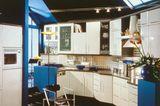 Einbauküche mit Hochregalen von Schüller, 1992