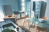 Freistehende Funktionselemente in der Küche