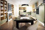 Küche mit integriertem Esszimmer von Schüller