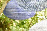 Lampions als Deko für die Gartenparty