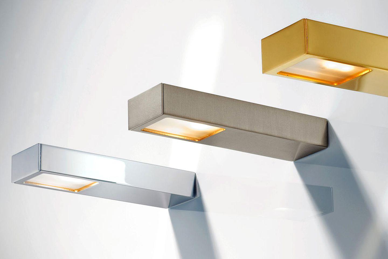 """Wand- und Spiegelaufsteckleuchten """"Flat"""" von Decor Walther"""