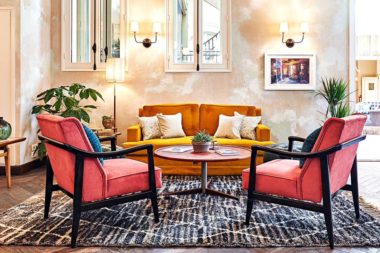 "Foyer des Designhotels ""The Hoxton"" in Paris"