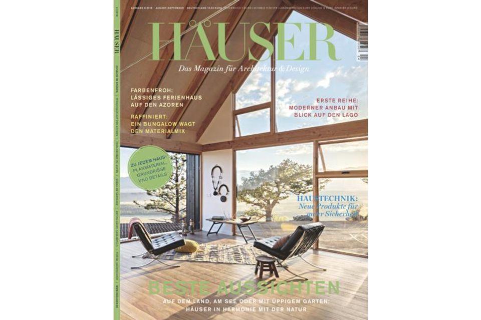 HÄUSER 04-2018: Cover