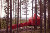 Baumhaus des Treehotels in Schweden