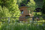 "Naturhotel ""Tannenhof"" mit Hüttenturm"