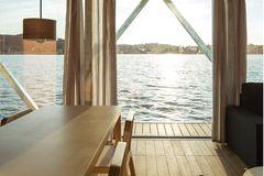 Floatwing: Blick nach draußen