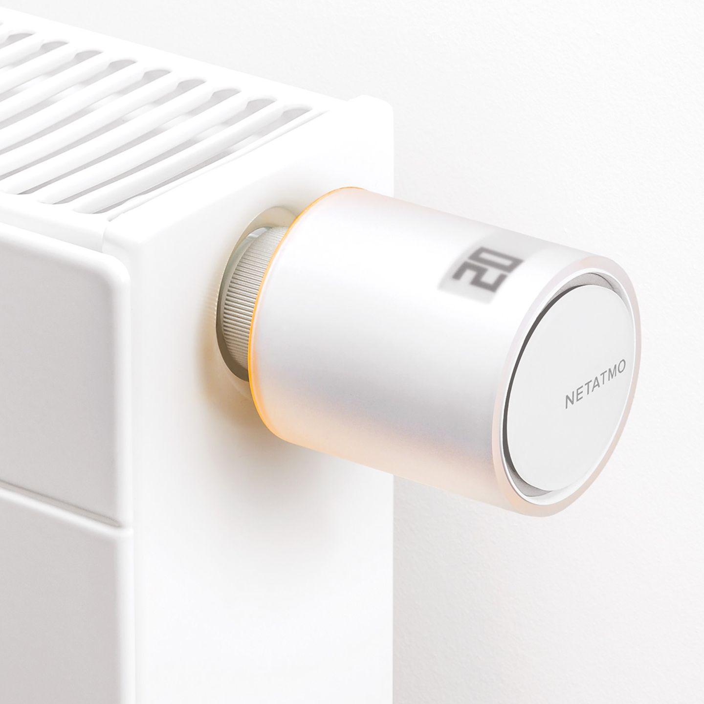 Heizkörperthermostat mit schönem Design von Netatmo